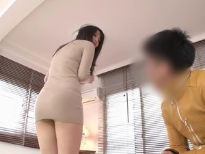 Undressing An Misora impatient to see her nude and dick her
