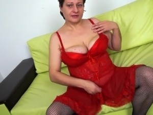 Horny housewife mature