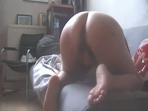 Kinky amateur wifey wanted to be properly hammered doggy style