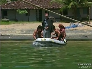 Anal Orgy in a Boat wiht the Brazilian 'Garotas'