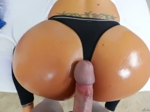 Nina Elle sucks a mean dick and she is horny as hell