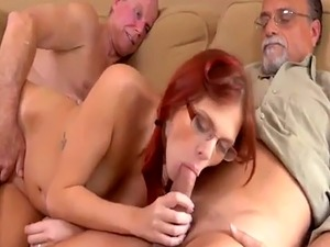 Old man young girl rimming and blonde gangbang Frannkie And The Gang T