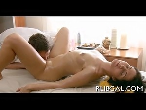 Massage cheerful ending porn
