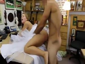 Blonde milf handjob patron A bride's revenge!