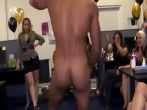 Spex amateur pussy fucked during office party