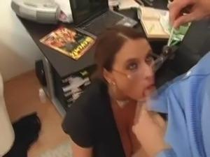 Fucking with Secretary Milf