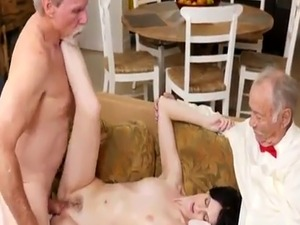 Vintage anal Frannkie goes down the Hersey highway