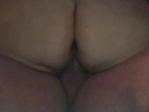Big butt gf riding my dick