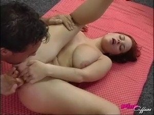 Olena has her pink clit tasted and penetrated rough