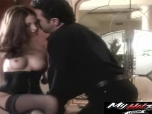 Jenna Haze dolls up for a formidable sex session with her stud