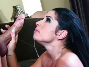 Stunning Monica Santiago loves being plowed by a big dick
