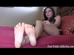 You will love worshiping my perfect feet