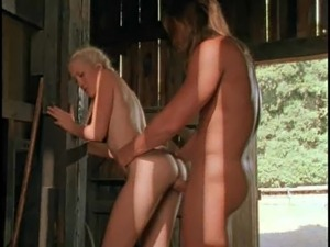 Adoring blonde lady is happy to feel a massive dong up her anal hole