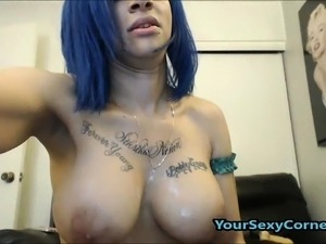Wild Crazy Ghetto Ebony Extreme Gagging And DP