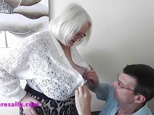 Sallys new boyfriend takes liberties with her
