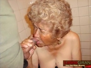 These nasty grannies love to be naked and they are so trashy