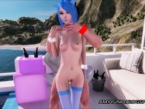 Cute Submissive 3D Teen Girl Takes It Anal In Virtual Game!