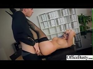 Office Sex Action With Sluty Horny Big Tits Girl (Christina Shine) clip-08