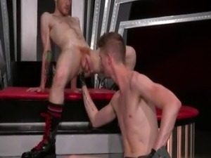 Goat ass in man cock sex and movies gay porn Slim and slick ginger hun