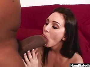 HumiliatedMilfs - She loves his Monster black Stick