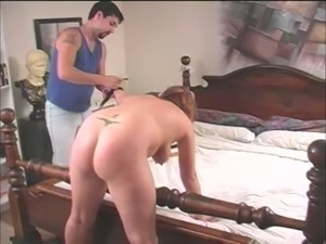 Nasty Mature Couple Likes To Do Hardcore Spanking Every Day
