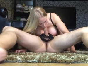 Awesome Blonde MilIn Control