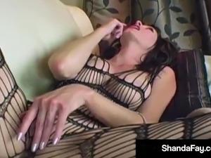 Hot Housewife Shanda Fay Banged In Pantyhose & Enjoying Sex