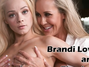 Mommy Brandi Love and Elsa Jean