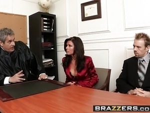 Brazzers - Big Tits at Work - Is It a Penal Offense scene st