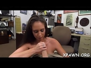 Naked dilettante is getting cock