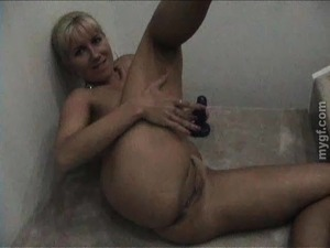 Adorable Blonde Masturbates In A Homemade Solo Model Video