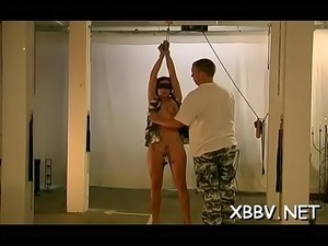Bdsm dilettante porn with breasty babe