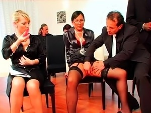 Intimate sex party with paint and cock hungry whores