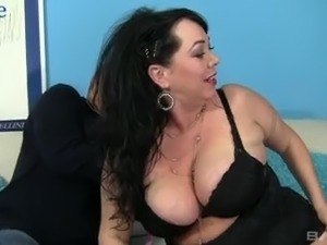 Ardent BBW with giant ass Alexis Couture gets her meaty cunt finally fucked