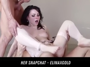 2 horny lesbian licked pussys her snapchat - elinaxgold