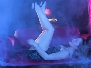 Dani Daniels gets down and dirty with her Count Dracula