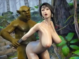 The beauty and the orc