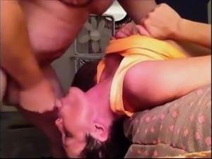 short haired milf loving cum