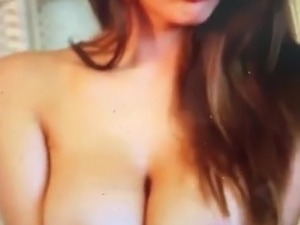 Lucy Pinder showing her boobs and is pissed