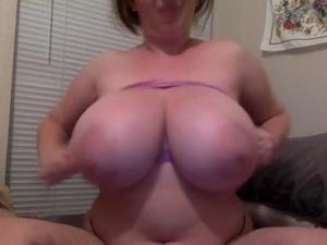 huge tit lady