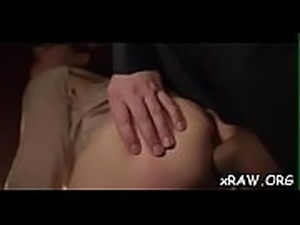 Teenie gets 2 males to ruin her arse in wild anal pov