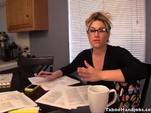Stepmom transformation from bitch to MILF - Taboo Handjobs