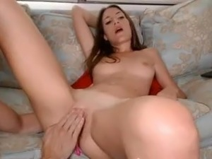 Perfect babe sucking big cock and fucked doggy perfect ass