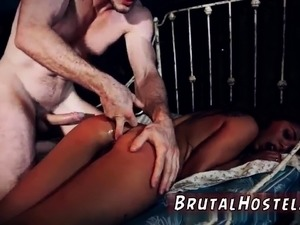Slave bound gangbang creampie first time Poor little