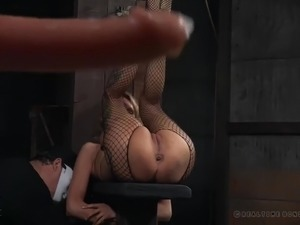 Some femdom sex games with really voracious busty MILF Rain DeGrey