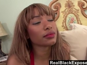 Torrid girlfriend Bella is happy to ride dick and be fucked in spoon pose