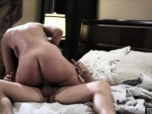 This is her first ever rough douple penetration scene