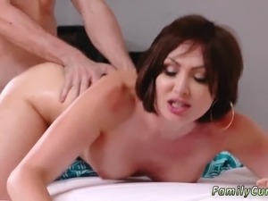 Teen dripping pussy juice Auntie To The Rescue