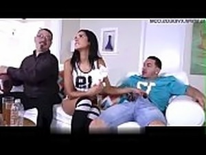 Hot Tiny teen Latina Stepsister Fucked with stepdads big cock