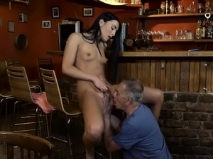 Old young blowjob Can you trust your gf leaving her alone wi